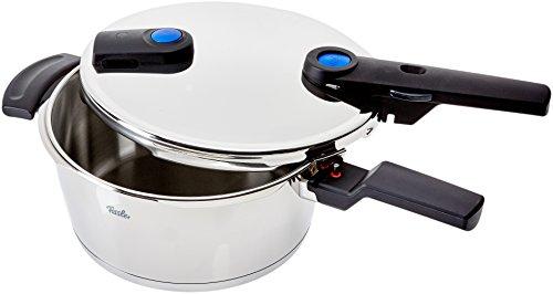 Fissler Vitaquick Olla a Presión, 3,5 L, Diámetro de 22 cm, Apta para Cocinas de Inducción, Gas...