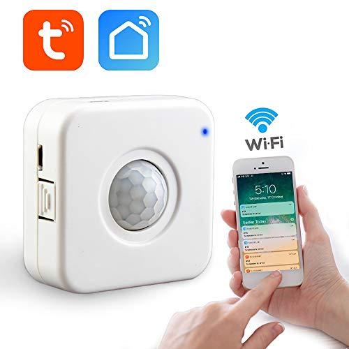 ewegungs Sensor Trigger alarmiert BewegungsMelder - USB Netzteil - TuyaSmart/Smart Life APP Control ()