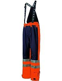 """Helly Hansen 71476_ 265–4x l Größe 4X Große """"Ludvika (Warnschutz-Latzhose–Orange/Navy Blau"""