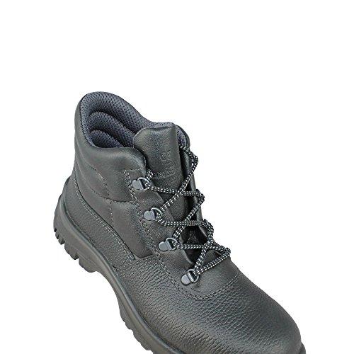 Aimont berlino s1 sRC chaussures berufsschuhe businessschuhe chaussures de trekking (noir) Noir - Noir