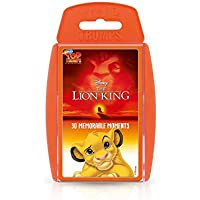 Lion King Top Trumps Card Game