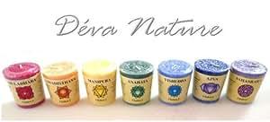 7 BOUGIES CHAKRA - bougies naturelles parfumées