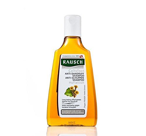 Rausch Huflattich Anti-Schuppen Shampoo (wirkt nachhaltig und mild gegen Schuppen, ohne Silikone und Parabene - Vegan), 1er Pack (1 x 200 ml)