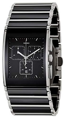 08c49a94c Rado Integral XL Chronograph Quartz Black Ceramic Stainless Steel Black  Dial Date Mens Watch R20849152