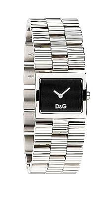 Reloj D&G Dolce&Gabbana DW0339 de mujer de cuarzo con correa de acero inoxidable plateada de D&G TIME