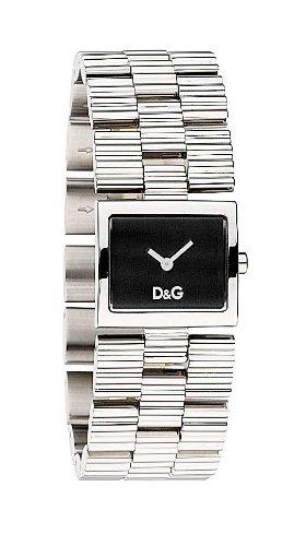 D&g dolce&gabbana dw0339 - orologio da polso donna, acciaio inox, colore: argento