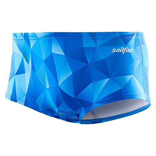 Neue Herren Badehose Swim Trunks (Sailfish Mens Swim Trunk Square, blue, S)