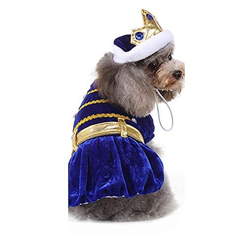 TUOTANG Suministros para Mascotas Ropa de Perro Vestido de Verano Falda para...