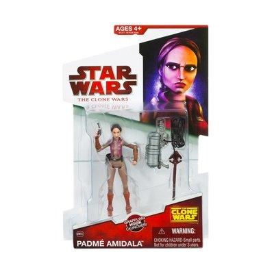 Padme Amidala Adventure Gear CW35 Star Wars Clone Wars Action Figure (Clone Wars Padme)