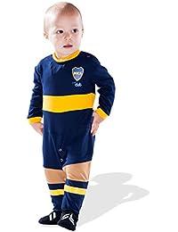 Boca Juniors bocaft pijama Mixta bebé, BOCAFT, azul, FR : 3-6 mois (Taille Fabricant : 3-6 mois)