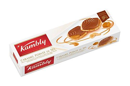 Preisvergleich Produktbild Kambly Caramel Pointe de Sel 100g,  3er Pack (3 x 100 g)