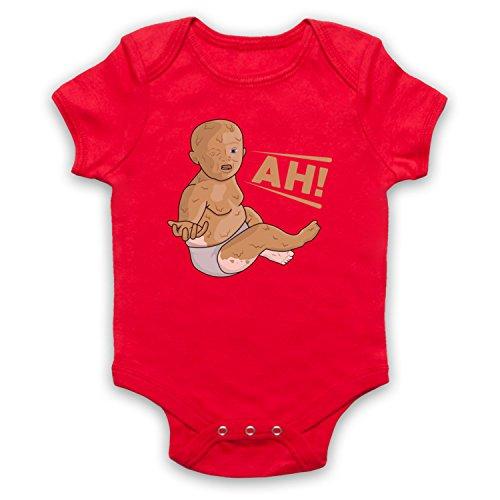 ng Peanut Butter Baby Babystrampler, Rot, 6-12 Monate ()