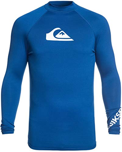 Quiksilver Herren All Time L/sl Surf Tee Electric Royal XXL