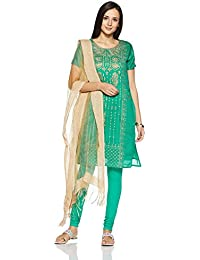 Imara Women's A Line Salwar Suit Set (Pack Of 3)