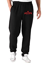 T-Shirtshock - Pantalones Deportivos TUM0122 ANTIFA HOOLIGANS