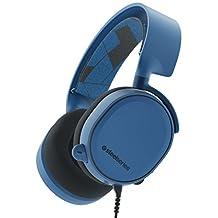Steelseries Arctis 3 7.1 Surround Oyuncu Kulaklığı, Mavi