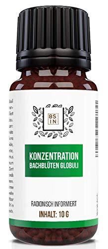 8 Sin Nutrition | Konzentration Globuli | Fokus | Brain Booster | Energie | Schulstress | radionisch informiert | 100% natürlich