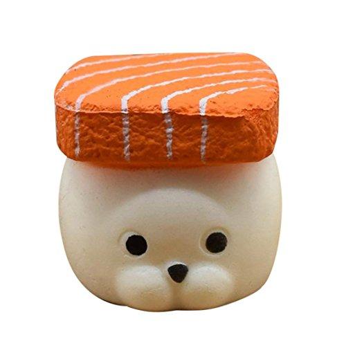 Stress Spielzeug,DOLDOA Squeeze Langsam steigende Spaß Stress Relief Spielzeug (Bär,3.34