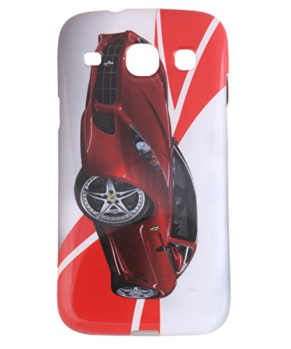 iCandy Matte Finish Soft Rubber Printed Back Cover for Samsung Galaxy Core Duos I8260 /8262 - Red Ferrari  available at amazon for Rs.99
