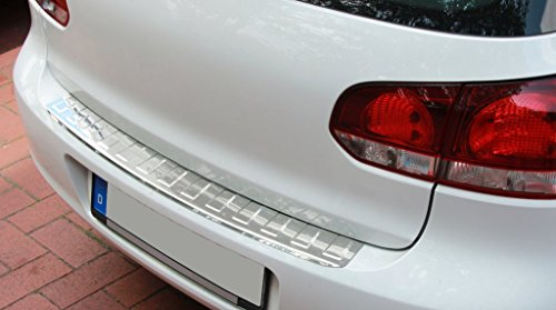 Edelstahl Ladekantenschutz Abkantung Chrom kompatibel für Golf 6 Limousine 3 oder 5 Türig