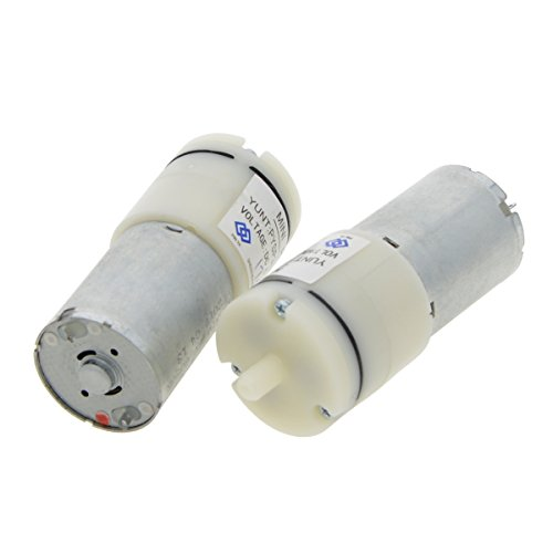 Uotyle DC 6 V Mini Air Pumpe Motor für Aquarium Sauerstoff zirkulieren -