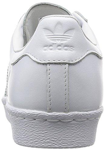 Adidas Sneaker Women SUPERSTAR 80S METAL TOE S76540 Weiß, Schuhgröße:40 -