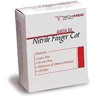 DUKAL 4404M tech-med Finger Babybett, mittel, Nitril (144Stück) preisvergleich bei billige-tabletten.eu
