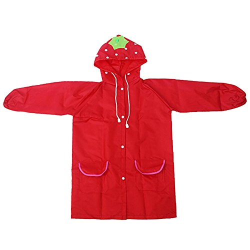 Highdas Cartoon Animal Shapes Children Raincoat Kids Poncho 90cm-130cm