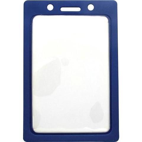 1820-3002 Vinyl Color - Frame Badge Holder - Pack of 100 Blue by Brady