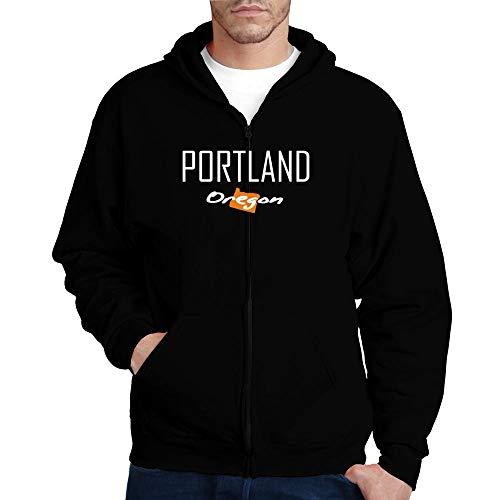 Idakoos Portland State Map Kapuzenjacke M