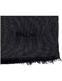 Pollini Stola donna cerimonia nera seta invernale Foulard sciarpa modal  scialle elegante 84c32739955