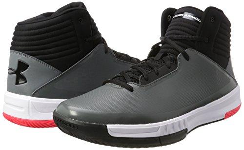 Under Armour Ua Lockdown 2 Chaussures de Basketball Homme Gris (Graphite)