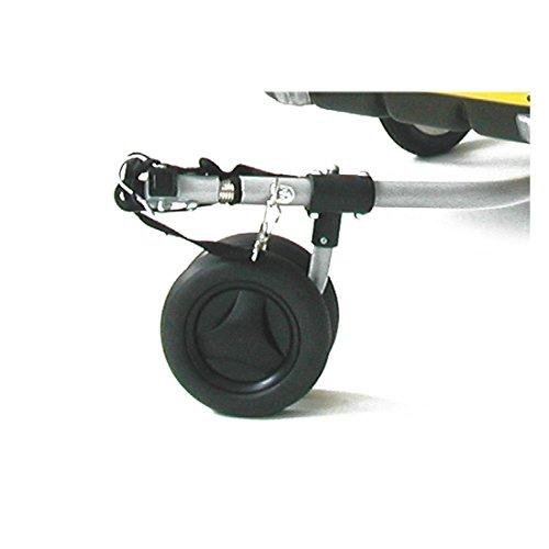Croozer Zwillings-Buggyrad inkl. Haltebolzen für Kiddy Van 101