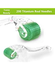 Toexy 192 Micro Needles Derma Roller zur Hautverjüngung