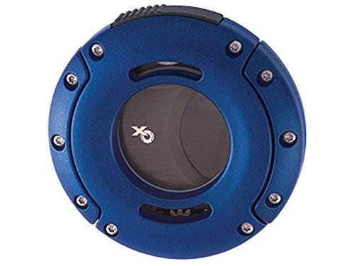 Xikar Xo einzigartige Double Guillotine Cutter 64 Ring Guage Multi Listing Blau mit Schwarz