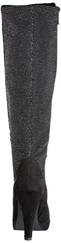 Marco Tozzi - 25503, Stivali Donna Nero (Black Comb)