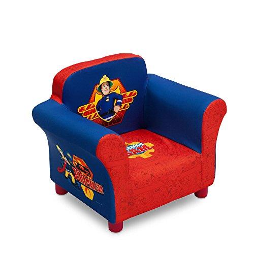Feuerwehrmann Sam Sessel mit Holzinnenteil Kindersessel Sofa Stuhl Kinderstuhl Kindersofa