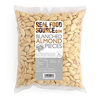 RealFoodSource Blanched Almonds Pieces 1KG