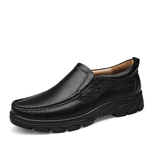 Scarpe Da Uomo Inverno Scarpe Casual Per Il Settore Delle Scarpe Scarpe Traspiranti Scarpe Traspiranti Quotidiane In Cuoio Casual Scarpe Comode In Pile Black
