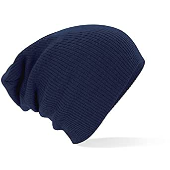 Beechfield - Slouch Beanie - French Navy, One Size