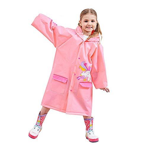 Volwco - Poncho de Lluvia para niños