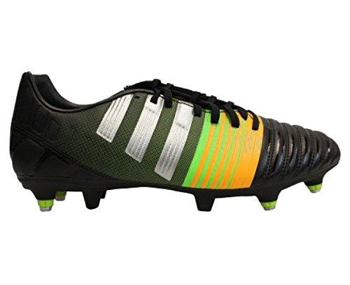 Chaussure De Football Adidas Nitrocharge 3.0 Sg Pour Homme Noir / Vert / Jaune