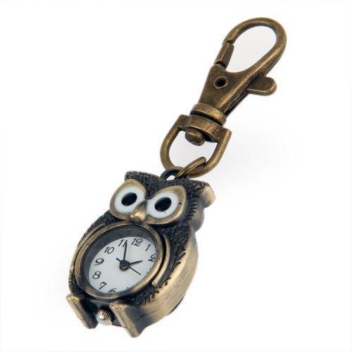 Gleader Reloj llavero Claves en forma de Buho 37x24mm