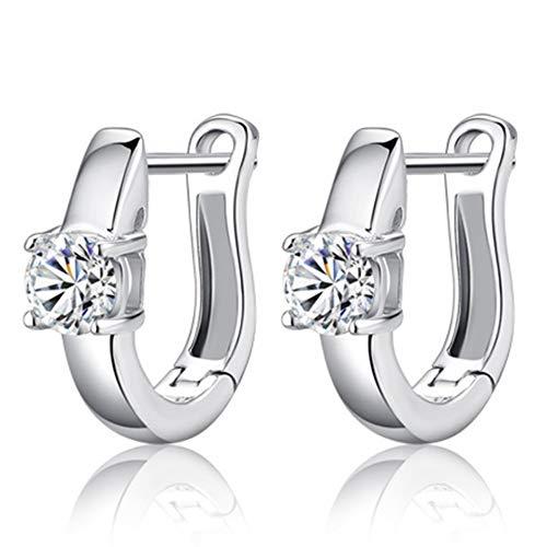 Animolulu Diamond 925 Sterling Silber Ohrringe