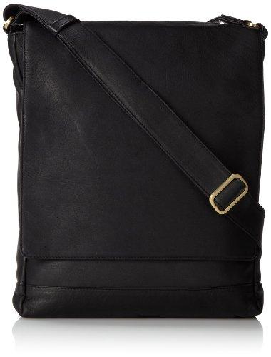 derek-alexander-ns-3-4-flap-unisex-messenger-bag-black-one-size