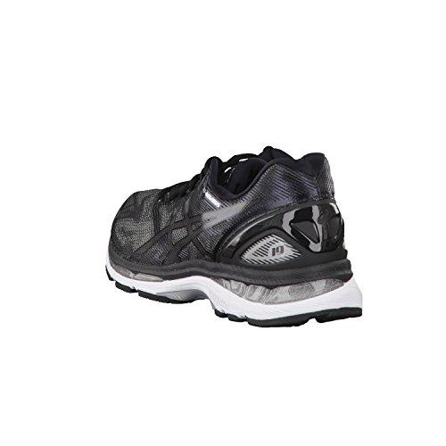 Asics Gel-Nimbus 19, Chaussures de Course pour Entraînement sur Route Homme, Indigoblue/Safetyyellow/Electricblue black/onyx/silver