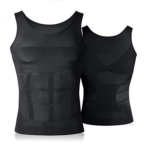 VENI MASEE Mens dimagrante Body Shaper Vest/Shirt Abs addome Slim, prezzo/Pezzo dimagrante Vest Marca su Amazon USA