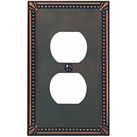 Imperial perline di bronzo antico parete plate-ab outlet Wallplate