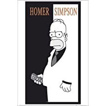 [Import Anglais]The Simpsons Scarface Maxi Poster