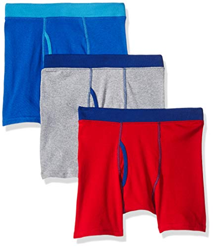 Hanes Baumwoll-boxer (Hanes Boys' ComfortSoft® Dyed Boxer Briefs 3-Pack/Herren Boxer Briefs 3-Pack, Multi-Color as seen on the picture, XL)